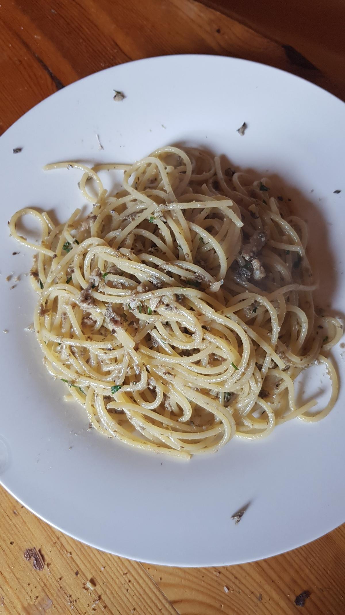 Spaghetti & Sardines
